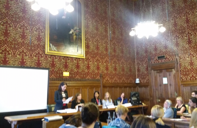 Gillian co-chairing APPG women and work meeting