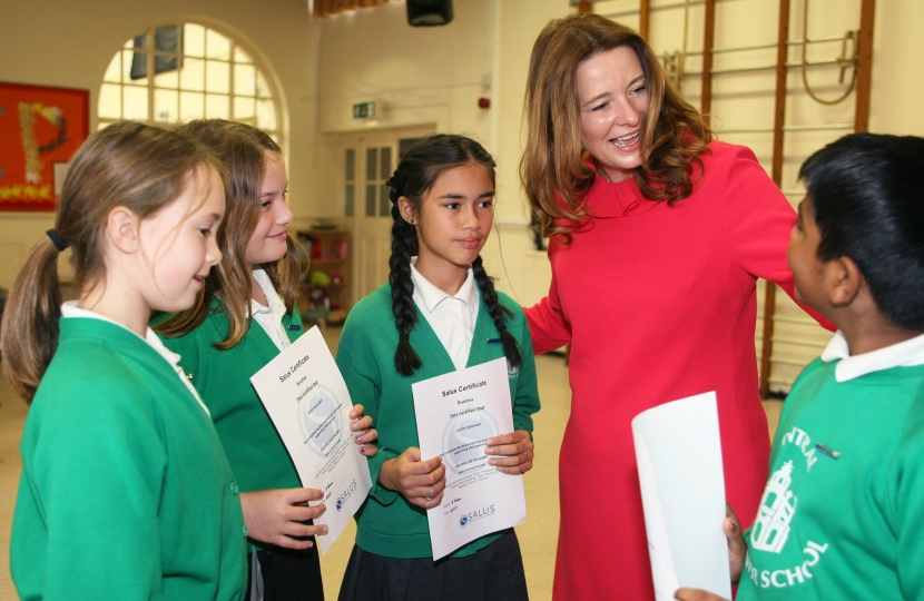 Gillian at CE Central School