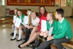 Gillian at Chichester Central School