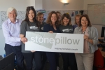 Gillian with the Stonepillow team